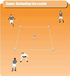 #Attacking_and_defending_skills_soccer_drill