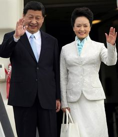 China's President Xi and the First Lady - Peng