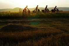 End of the day ride in Serbia crédit : Solidream