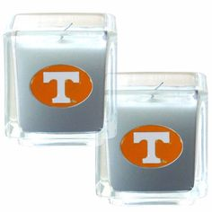 "Checkout our #LicensedGear products FREE SHIPPING + 10% OFF Coupon Code ""Official"" Tennessee Volunteers Scented Candle Set - Officially licensed College product 2 glass candles 2 x 2 inch candles Lightly vanilla scented Tennessee Volunteers metal emblems - Price: $31.00. Buy now at https://officiallylicensedgear.com/tennessee-volunteers-scented-candle-set-c2cd25"