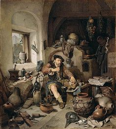 The Alchemist by Bega. For more resources and activities ideas for THE TRUMPETER OF KRAKOW by Eric P. Kelly, visit http://www.litwitsworkshops.com/free-resources/the-trumpeter-of-krakow/