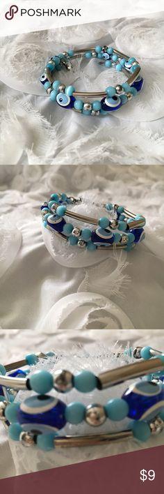 Evil eye bracelet!💙💙 New without tags! Cute bracelet! Jewelry Bracelets