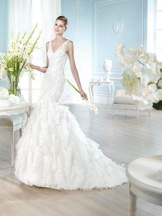 Vestido de novia, modelo Harel de St. Patrick 2014  www.sanpatrickgranada.es