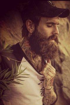 Beard tattoos