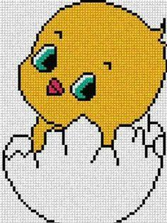 Chicken and egg x-stitch Cross Stitch For Kids, Cross Stitch Baby, Cross Stitch Animals, Cross Stitch Charts, Cross Stitch Designs, Cross Stitch Patterns, Cross Stitching, Cross Stitch Embroidery, Embroidery Patterns