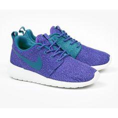 91ba6057914 ... Nike Womens Roshe Run - Purple Haze (865 MXN) ❤ liked on Polyvore  featuring nike air foamposite one purple haze custom ...