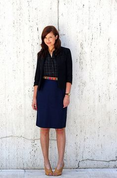 navy and black - the right way