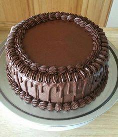 67 ideas for birthday cake chocolate buttercream frosting recipes Chocolate Cake Frosting, Buttercream Cake, Chocolate Cakes, Birthday Cake Decorating, Cake Decorating Tips, Chocolate Birthday Cake Decoration, Icing Recipe, Frosting Recipes, Cake Recipes
