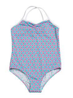 8eabb040e3 I Am Loved Swimsuit by Stella Cove at Gilt Baby Girl Swimsuit, Kids Swimming ,