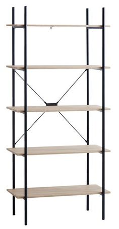 Shop the great selection of bookcases and room dividers for your home. Modern Country, Shelving, Bookcase, The Unit, Inspiration, Home Decor, Loft, Bedroom, Black