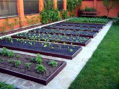 40 impressive backyard landscaping ideas on a budget 18 ~ Design And Decoration Vegetable Garden Planner, Backyard Vegetable Gardens, Veg Garden, Vegetable Garden Design, Garden Planters, Garden Tools, Diy Garden Bed, Back Gardens, Aquaponics