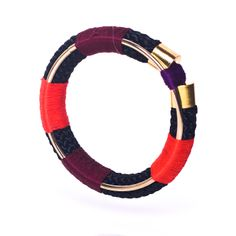 Wear alone or stack for an arm party. Rope & Threading. Ancient world meets Industrial revolution with a contemporary twist. www.labordeshop.com