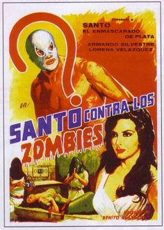 Santo contra los zombies.jpgBenito Alazraki (27 October 1921 – 6 June 2007) was a Mexican film director and screenwriter. He directed 40 films between 1955 and 1995.
