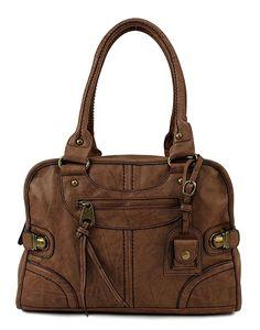 http://amzn.to/2sVJZ4z    #handbags #style #stylish #fashion #designer Stylish and fashionable handbags for women with exquisite tastes    Scarleton Large Satchel H106808 - Beige
