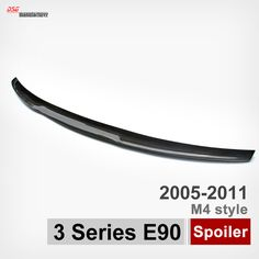Carbon fiber rear trunk wings spoiler M4 style spoiler for bmw 3 series e90 2005 2011 sedan 316i 318i 320i 323i 325i