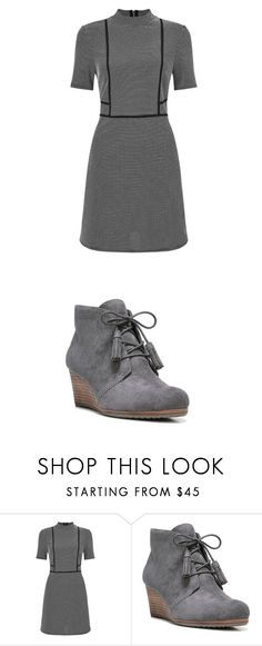 """""""Untitled #1139"""" by laurie-egan on Polyvore featuring Miss Selfridge and Dr. Scholl's"""