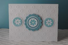 Simple Layered Circles by MelanieMakes - Cards and Paper Crafts at Splitcoaststampers