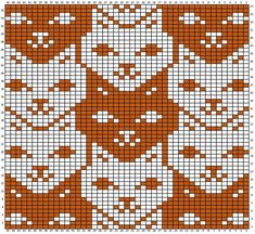knitting charts tessellations charts for - knitting Knitting Charts, Knitting Stitches, Knitting Designs, Knitting Patterns, Crochet Patterns, Loom Patterns, Crochet Cross, Crochet Chart, Knit Crochet