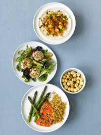 Fit into your favorite jeans and lose 10 pounds with this collection of easy, healthy recipes. Mix and match from these breakfast, lunch, dinner, and snack recipes for a total of 1,500 calories a day.