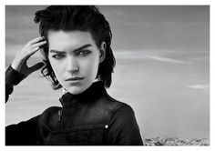 Great new a/w 2012 campaign by GStar Raw, with Arizona Muse shot by my favourite photographer Anton Corbijn