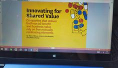 #articlereview #coursematerial #strategy #globalization #innovatingforsharedvalue