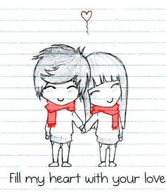 couple drawing<3