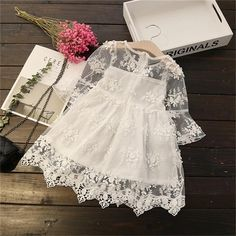Kids Christmas Cosplay Costume Spring summer autumn baby girl dress fashion princess Lace embroidery girl cotton dress - Baby clothing boy, Baby clothing girl, Gender neutral and baby clothing Fashion Kids, Baby Girl Fashion, Toddler Fashion, Fashion Spring, Fashion Fashion, Latest Fashion, Autumn Fashion, Womens Fashion, Girls Lace Dress