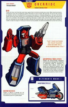 """This is my attempt at replicating a """"Who's Who"""" page from the Transformers handbook, How did I do ? Transformers Generation 1, Transformers Decepticons, Transformers Characters, Gi Joe, Classic Cartoons, Cartoon Pics, Marvel Dc, Comic Books, Robot"""