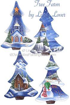 Tree Farm Pattern by Linda Lover