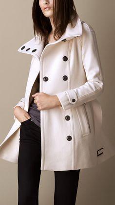 Wool Cashmere Blanket Wrap Coat | Burberry