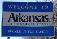 welcome to arkansas state sign - Google Search