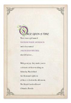 Wedding Checklist Story Book Ending - Wedding Invitations by Invitation Consultants. Do It Yourself Wedding, Plan Your Wedding, Dream Wedding, Wedding Day, Luxury Wedding, Wedding Tips, Geek Wedding, Wedding Anniversary, Wedding Stuff