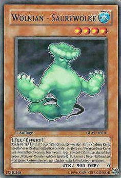 Original KONAMI Yu-Gi-Oh! Trading Card  GLAS-DE010 Wolkian - Säurewolke / Cloudian - Acid Cloud Deck: GLAS Gladiator's Assault Seltenheit: Rare Kartentyp: Effekt-Monsterkarte Typ: Fee / Effekt ATK/DEF: 500/0 Kartennummer: 17810268    Günstig bei eBay kaufen!