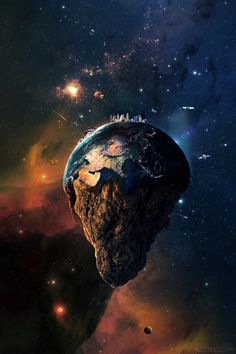 Earth on the Behance Network