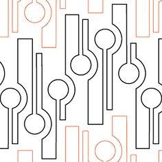 Super Ideas for modern machine quilting patterns design Quilting Stencils, Quilting Templates, Longarm Quilting, Free Motion Quilting, Quilting Tutorials, Quilting Ideas, Quilting Projects, Machine Quilting Patterns, Quilt Patterns