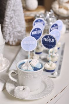 Frozen Hot Chocolate Bar