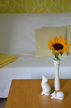 Dekoidee mit TIZIANO Katze Samira und Vase Belvedere
