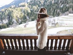 Mountain Air-Switzerland Kin/K Hats All Fashion, All About Fashion, Cute Fashion, Everyday Fashion, Winter Fashion, Style Me, Cool Style, Minimalist Fashion, Minimalist Style