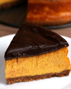 Cheesecake de cenoura com brigadeiro
