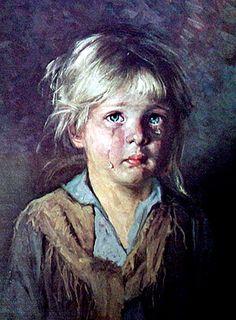 Little girl crying painting. Little girl crying painting. Italian Painters, Italian Artist, Sad Paintings, Original Paintings, Portraits, Portrait Art, Portrait Paintings, Painting For Kids, Art For Kids