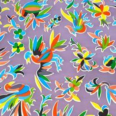 Hule mexicano, 100 % color. Modelo oaxaca con aves. #hulemexicano #hule #fantastikbazar #oilcloth #oilclothaddict #toileciree #toilecirée #ideasdecoracion