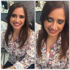 A Rosane fez o curso de automaquiagem na loja da NYX do Shopping Boulevard Belém e mostrou o look que aprendeu com a consultora @eyko_lima. O batom escolhido foi o Whipped Caviar
