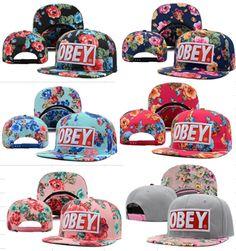 Big obey hats bboy flat brimmed hat obey hiphop hat hip hop cap sunbonnet-inBaseball Caps from Apparel Accessories on Aliexpress.com