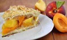 Γλυκόξινη τάρτα με ροδάκινα και βερίκοκα/Stone fruit pie