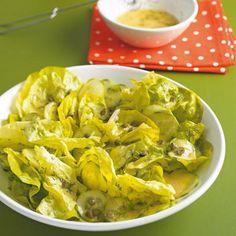 Kopfsalat mit Honig-Zitronen-Dressing - [ESSEN UND TRINKEN]