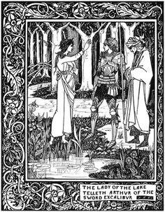 La Morte D'Arthur, Aubrey Beardsley