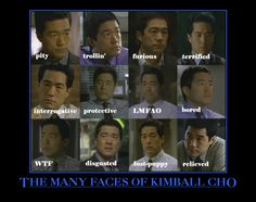 kimball cho mentalist - Google Search