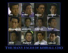 kimball cho mentalist - Google Search