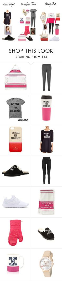 """Eat Cake for Breakfast"" by mrs-sweet-potato ❤ liked on Polyvore featuring STELLA McCARTNEY, Kate Spade, NIKE and ComeForBreakfast"