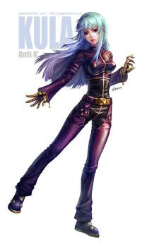 The King of Fighters - main character Kula diamond 12 painted it KOF - Kula diamond Art Of Fighting, Fighting Games, Disney Marvel, Female Character Design, Character Art, Doom Demons, Kula Diamond, Snk King Of Fighters, Mobile Legend Wallpaper